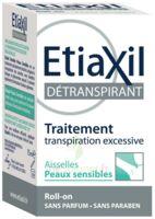 Etiaxil Aisselles Détranspirant Peau Sensibles Roll-on/15ml à BARCARÈS (LE)