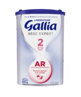 Gallia Bebe Expert Ar 2 Lait En Poudre B/800g à BARCARÈS (LE)