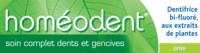 Boiron Homéodent Soin Complet Dents Et Gencives Pâte Dentifrice Anis T/75ml à BARCARÈS (LE)