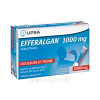 Efferalgan 1g Cappuccino granules 8 sachets à BARCARÈS (LE)