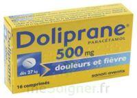 DOLIPRANE 500 mg Comprimés 2plq/8 (16) à BARCARÈS (LE)
