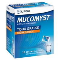 Mucomyst 200 Mg Poudre Pour Solution Buvable En Sachet B/18 à BARCARÈS (LE)