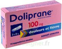 Doliprane 100 Mg Suppositoires Sécables 2plq/5 (10) à BARCARÈS (LE)