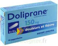 Doliprane 150 Mg Suppositoires 2plq/5 (10) à BARCARÈS (LE)