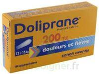 Doliprane 200 Mg Suppositoires 2plq/5 (10) à BARCARÈS (LE)