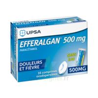 EFFERALGAN 500 mg, comprimé orodispersible à BARCARÈS (LE)