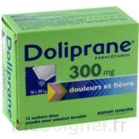 Doliprane 300 Mg Poudre Pour Solution Buvable En Sachet-dose B/12 à BARCARÈS (LE)