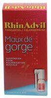 RHINADVIL MAUX DE GORGE TIXOCORTOL/CHLORHEXIDINE, suspension pour pulvérisation buccale à BARCARÈS (LE)