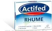 ACTIFED RHUME, comprimé à BARCARÈS (LE)
