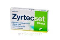 ZYRTECSET 10 mg, comprimé pelliculé sécable à BARCARÈS (LE)