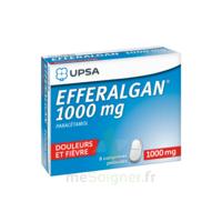 Efferalgan 1000 mg Comprimés pelliculés Plq/8 à BARCARÈS (LE)