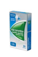 NICORETTE 4 mg Gom à mâcher médic sans sucre menthe glaciale Plq/30gom à BARCARÈS (LE)
