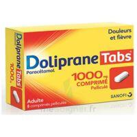 Dolipranetabs 1000 Mg Comprimés Pelliculés Plq/8 à BARCARÈS (LE)