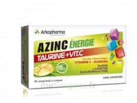 Azinc Energie Taurine + Vitamine C Comprimés à croquer dès 15 ans B/30 à BARCARÈS (LE)