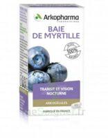 Arkogélules Myrtille baies Gélules Fl/45 à BARCARÈS (LE)