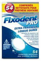 Fixodent Pro Comprimés Nettoyant Fraîcheur Longue Durée Pour Prothèse Dentaire B/54 à BARCARÈS (LE)