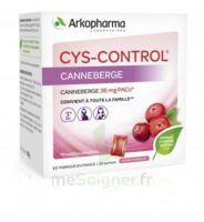 Cys-Control 36mg Poudre orale 20 Sachets/4g à BARCARÈS (LE)