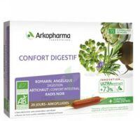 Arkofluide Bio Ultraextract Solution Buvable Confort Digestif 20 Ampoules/10ml à BARCARÈS (LE)