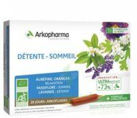 Arkofluide Bio Ultraextract Solution Buvable Détente Sommeil 20 Ampoules/10ml à BARCARÈS (LE)