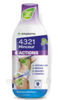 4321 Minceur 4 Actions Solution buvable Fl/280ml à BARCARÈS (LE)