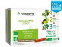 Arkofluide Bio Ultraextract Coffret Programme Détox 3x10 Ampoules/10ml à BARCARÈS (LE)