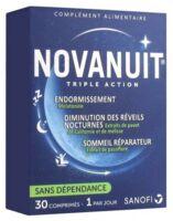 Acheter Novanuit Triple Action Comprimés B/30 à BARCARÈS (LE)