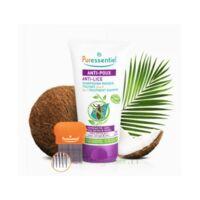 Puressentiel Anti-poux Shampooing masque traitant 2 en 1 Anti-Poux avec peigne - 150 ml à BARCARÈS (LE)