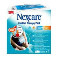 Nexcare Coldhot Comfort Coussin Thermique Avec Thermo-indicateur 11x26cm + Housse à BARCARÈS (LE)