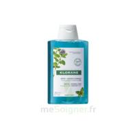 Klorane Menthe Aquatique Bio Shampooing Détox Fraicheur 200ml à BARCARÈS (LE)