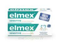 ELMEX SENSITIVE DENTIFRICE, tube 75 ml, pack 2 à BARCARÈS (LE)