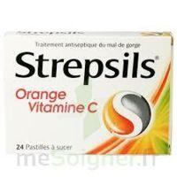 STREPSILS ORANGE VITAMINE C, pastille à BARCARÈS (LE)