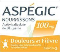 ASPEGIC NOURRISSONS 100 mg, poudre pour solution buvable en sachet-dose à BARCARÈS (LE)
