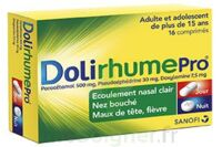 DOLIRHUMEPRO PARACETAMOL, PSEUDOEPHEDRINE ET DOXYLAMINE, comprimé à BARCARÈS (LE)