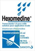 HEXOMEDINE TRANSCUTANEE 1,5 POUR MILLE, solution pour application locale à BARCARÈS (LE)