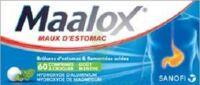 MAALOX HYDROXYDE D'ALUMINIUM/HYDROXYDE DE MAGNESIUM 400 mg/400 mg Cpr à croquer maux d'estomac Plq/60 à BARCARÈS (LE)