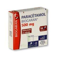 PARACETAMOL BIOGARAN 500 mg, gélule à BARCARÈS (LE)