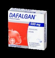 Dafalgan 500 Mg Comprimés Effervescents Sécables Film/16 à BARCARÈS (LE)