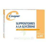 SUPPOSITOIRES A LA GLYCERINE COOPER Suppos en récipient multidose adulte Sach/25 à BARCARÈS (LE)