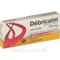 DEBRICALM 100 mg, comprimé pelliculé à BARCARÈS (LE)
