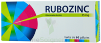 Rubozinc 15 Mg Gél 1plq/60 à BARCARÈS (LE)