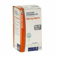 CALCIUM VITAMINE D3 BIOGARAN 500 mg/400 UI, comprimé à sucer à BARCARÈS (LE)