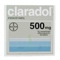 CLARADOL 500 mg, comprimé effervescent sécable à BARCARÈS (LE)