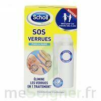 Scholl SOS Verrues traitement pieds et mains à BARCARÈS (LE)