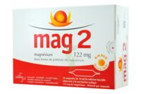 MAG 2 122 mg S buv en ampoule sans sucre édulcoré à la saccharine sodique 30Amp/10ml à BARCARÈS (LE)
