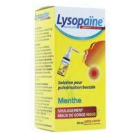 LysopaÏne Ambroxol 17,86 Mg/ml Solution Pour Pulvérisation Buccale Maux De Gorge Sans Sucre Menthe Fl/20ml à BARCARÈS (LE)