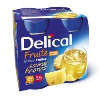 DELICAL BOISSON FRUITEE Nutriment ananas 4Bouteilles/200ml à BARCARÈS (LE)