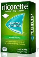 NICORETTE 2 mg Gom à mâcher médic sans sucre menthe fraîche Plq/30gom à BARCARÈS (LE)