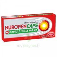NUROFENCAPS 400 mg Caps molle Plq/10 à BARCARÈS (LE)