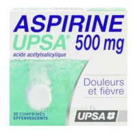 ASPIRINE UPSA 500 mg, comprimé effervescent à BARCARÈS (LE)