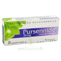 PURSENNIDE 20 mg, comprimé enrobé à BARCARÈS (LE)